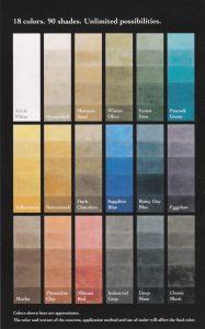 Cartilla Colores Microcemento